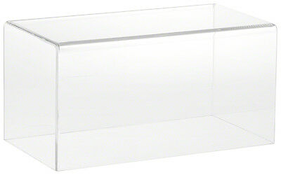 "Plymor Brand Clear Acrylic Display Case with No Base 10"" W x 5"" D x 5"" H"