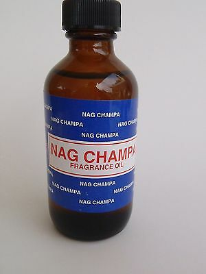 Nag Champa Warmer Essential Oil Burner Fragrance Premium Big LARGE Bottle 2OZ.