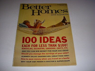 VINTAGE BETTER HOMES AND GARDENS Magazine July 48 REMODELING Awesome Better Homes And Gardens Decorating Ideas Remodelling