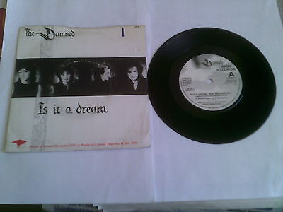 The Damned Is It A Dream 1985 A//3 B//3 1st UK Picture Cover GRIM 3