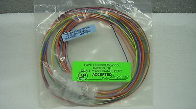 Pave Technologies Pave-Seal Hermetic Wiring Harness Pt8-Ss-200-9-Tz22-24-24 New