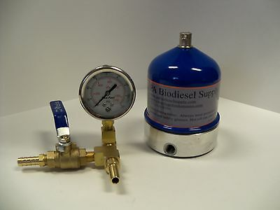 55 GPH CENTRIFUGE w/BRASS and GAUGE for WVO /OIL and BIODIESEL