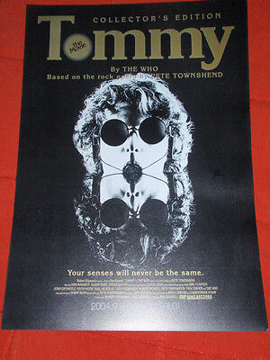 The WHO Japan flyer TOMMY original DVD flyer poster Maximum R&B Amazing Journey