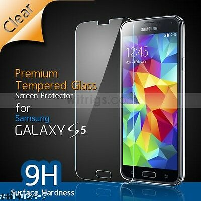 Ultra Thin 9H 0.26mm Tempered Glass Screen Protector for Samsung Galaxy S5 V S 5