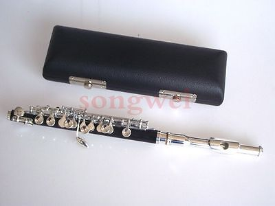 Excellent piccolo c key silver plated nice sound and technique