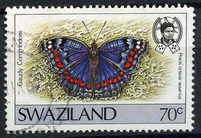 Swaziland 1987 SG#525, 70c Butterfly Definitive Used #D16208