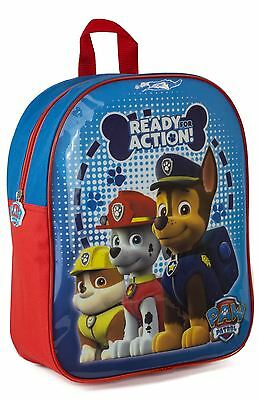 Paw Patrol Children Kids Ready for Action Marshall Chase School Travel Backpack