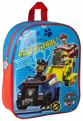 Paw Patrol School Travel Bag Marshall Rubble Chase Shoulder Strap Kids Backpack