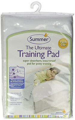 "Summer Infant 94420 Ultimate Training Pad Twin Mattress 38"" X 28"" New"