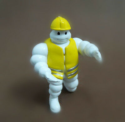 "Michelin Man Bibendum Figure Doll mini figure 2"" #Q3"
