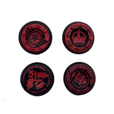 Rot 4-tlg. Set Of Kings Auswahl Thumb Grips für Xbox One, 360, Ps3, Ps4