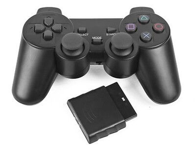 Mando Compatible Para Ps2 Play Station 2 Sin Cable Inalambrico De Pilas