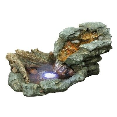 Alpine WIN568 Rock Waterfall Fountian With Led Lights -