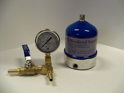 OIL 55 GPH CENTRIFUGE w/BRASS and GAUGE