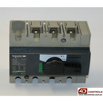 Schneider 28912 Switch - Disconnector - Interpact - ins160 - 3 Poles - 160 A ...