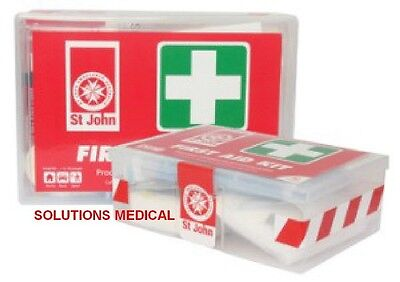 ST JOHN FIRST AID KIT 80 PIECES IN PLASTIC CASE (x1)