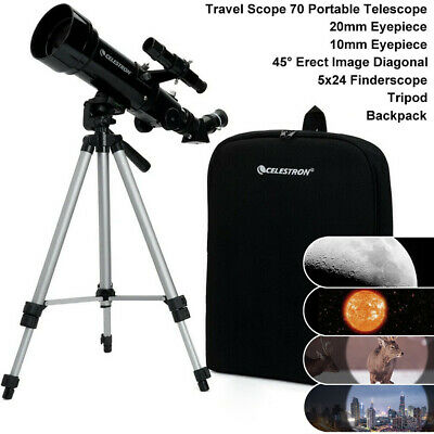 Celestron 21035 70mm Portable Telescope Terrestrial Astronomical Gift