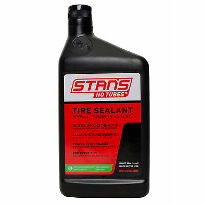 Stans NoTubes The Solution Road Bike/Cycle/Cycling Tyre Puncture Sealant- Quart