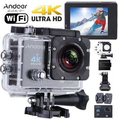 WiFi 4K Ultra HD 1080P Waterproof Sport DV Video Action Camera Camcorder
