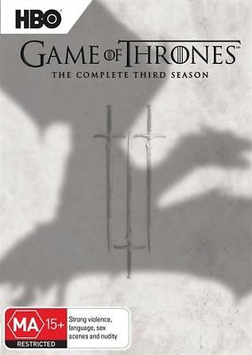 Game of Thrones - Complete Series Season 3 DVD Box Set R4 New & Sealed