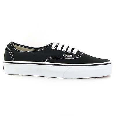 Vans Authentic Black Mens Trainers