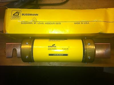 New Old Stock In Box  Cooper Bussmann Lps-Rk-600Sp Low-Peak Fuse 600Volt