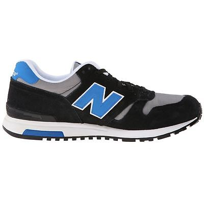 New Balance Life Style Black Grey Mens Trainers