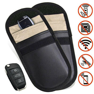 Car key Bag Car Fob Signal Blocker Faraday Bag Signal Blocking Bag Pouch