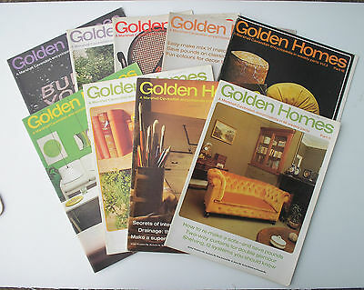 Golden Homes Magazines Marshall Cavendish Issues 11-20, 1972 - Free P&P!