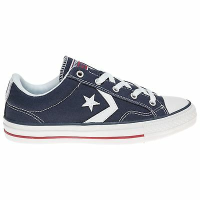 Converse Star Player Ox Navy White Mens Trainers