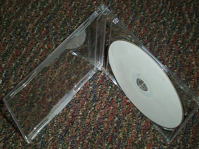 "300 New High Quality 7.2MM MAXI SLIM SINGLE CD JEWEL CASE ""J"" CARD, Rare, PSC17"