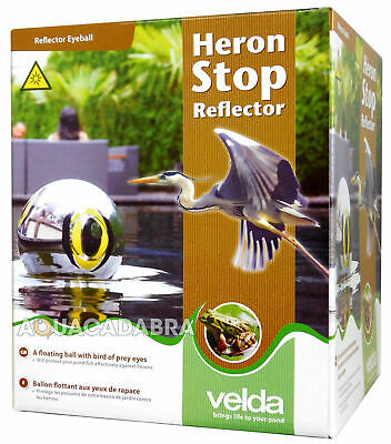 Velda Heron Stop Reflector Cat Bird Scarer Pond Fish Protector Floating Eyeball