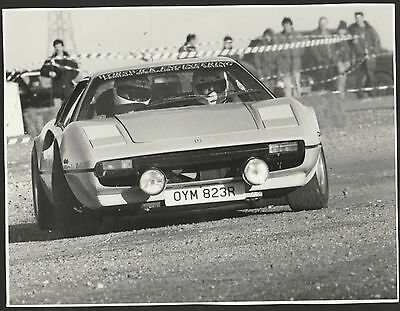 Worswick Ferrari 308 Gtb Rally Stages 1995 Group B Oym 823R Period Photograph