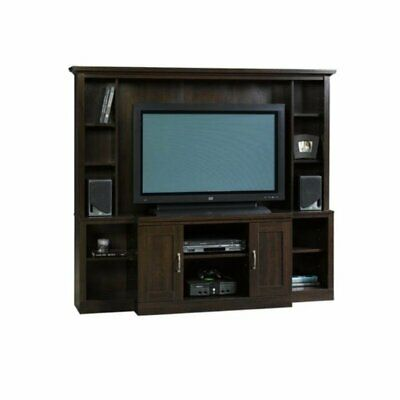 Sauder Select Large Entertainment Center in Cinnamon Cherry