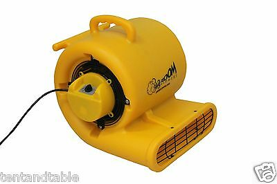 Zoom Centrifugal Carpet Floor Dryer 1/3 HP New Construction Product ZOOM BLOWERS