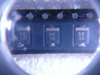 MCC SK16-T Schottky Diode 1A 60V DO-2144AA  SMD **NEW** Qty.5