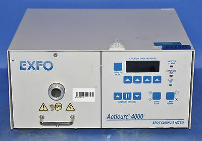 (1) Used EXFO 4000 Acticure UV Spot Curing System