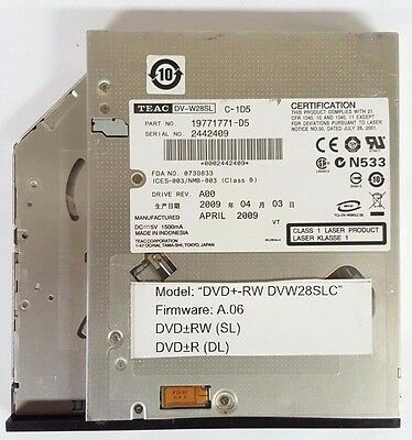 TEAC DV W28S VT DRIVERS FOR PC