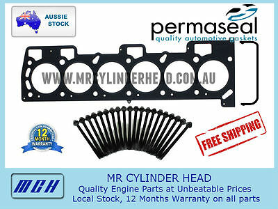 Ford Falcon Ea Eb Ed Ef El Au Permaseal Mls Metal Head Gasket + Head Bolt Kit