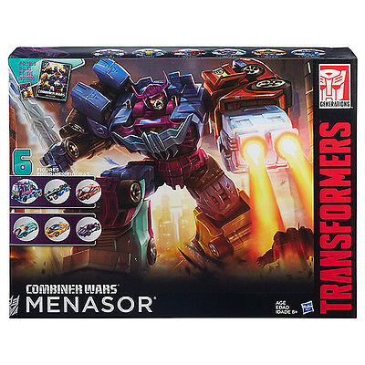 NEW Transformers Generations Combiner Wars Menasor Collection Pack