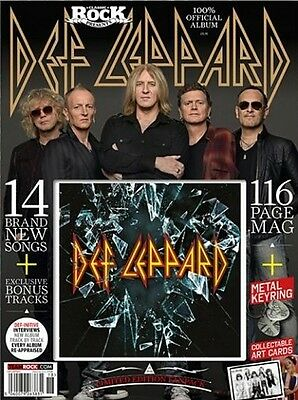 CLASSIC ROCK Presents DEF LEPPARD Limited Edit FanPack CD+MAG+KEYRING+CARDS @New