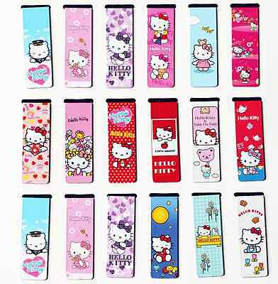 2x Hello Kitty Magnetic Bookmark