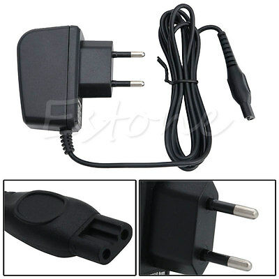 Universal Power Razor Charger Cord Adapter For Philips Norelco Shaver HQ EU Plug
