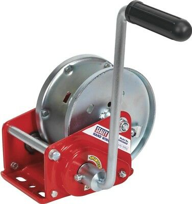 Sealey Geared Hand Winch with Brake 900Kg Capacity GWE2000B