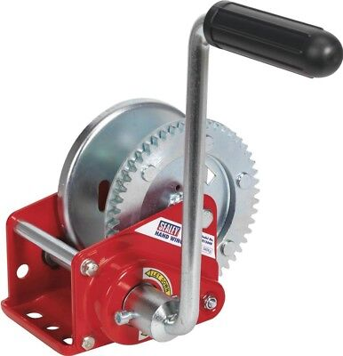 Sealey Geared Hand Winch with Brake 540Kg Capacity GWE1200B