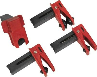 Sealey Fuel/Brake Pipe Clamp Set 4PC VS0556