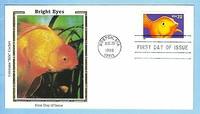 Colorano 3231 Bright Eyes Goldfish First Day Cover