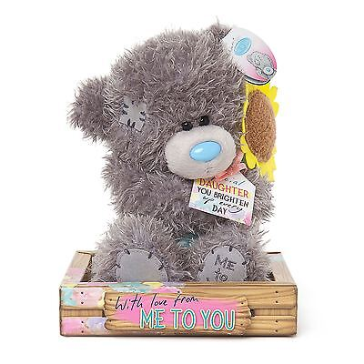"""Me to You 7"""" Special Daughter & Sunflower Plush For Daughters - Tatty Teddy Bear"""
