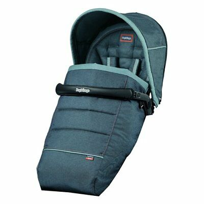 Peg Perego Pop Up Seduta per passeggino Completo Blue Denim