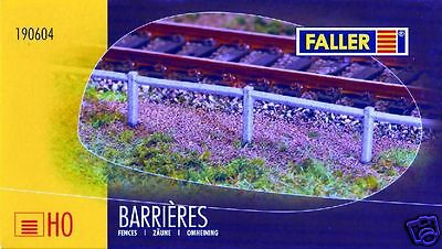 Maquette Ho 1/87 Faller 190604 - Barrieres Beton Sncf